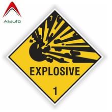 Aliauto Personality Warning Car Sticker Explosive Body Window Waterproof Sunscreen Reflective Decal
