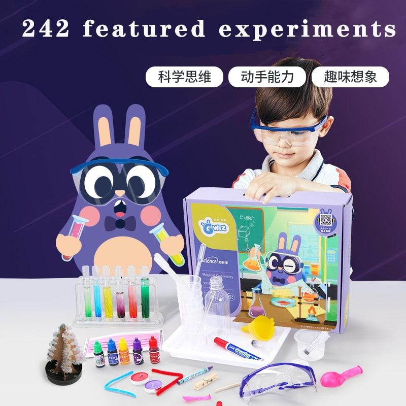 Children's Knowledge Enlightenment Puzzle Recognition Educational Toys Kindergarten Chemical Science Experiment Set Puzzle Toys
