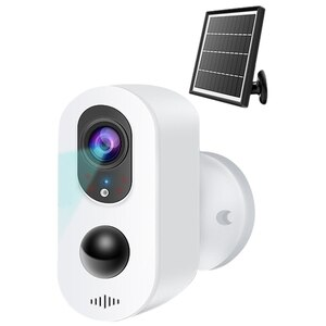 Solar Battery Camera 2MP WiFi Smart Outdoor 1080P HD Surveillance Camera Remote Surveillance Camera