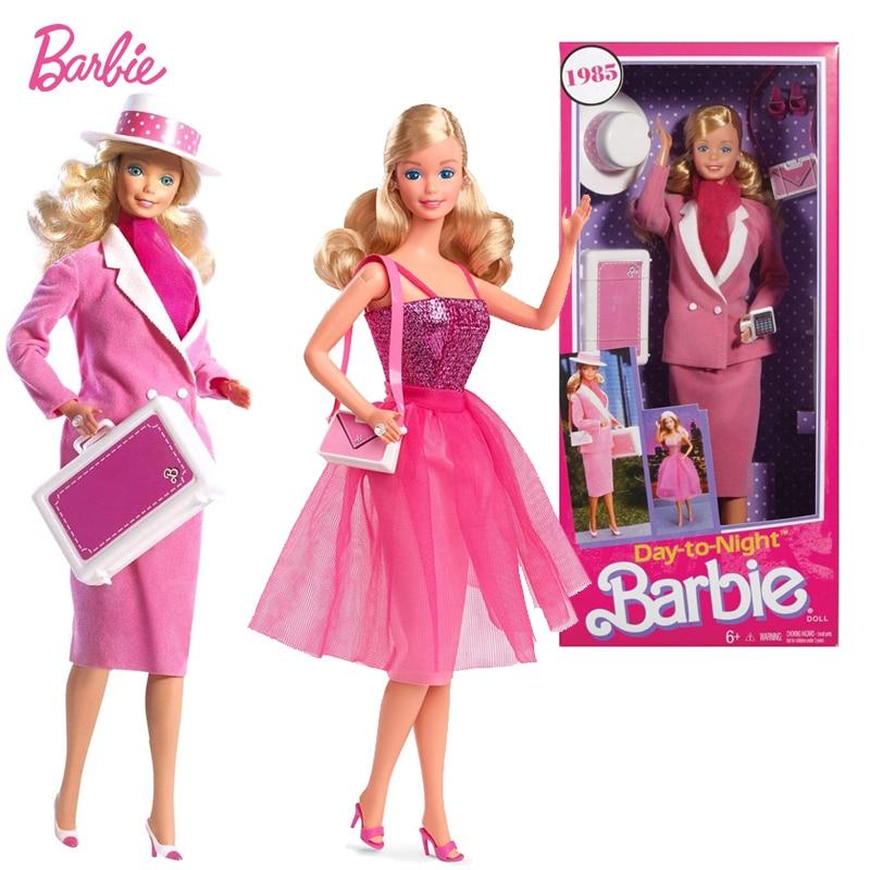 Muñeca de moda de día a noche de Barbie, muñeco para Navidad,...