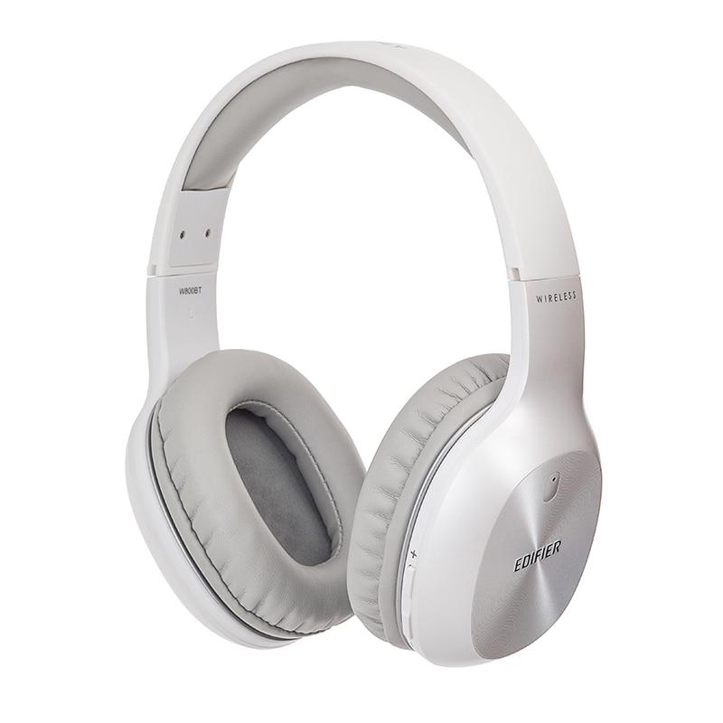 Edifier w800bt fones de ouvido sem fio bluetooth em controles de ouvido conforto leve e até 35 horas de reprodução