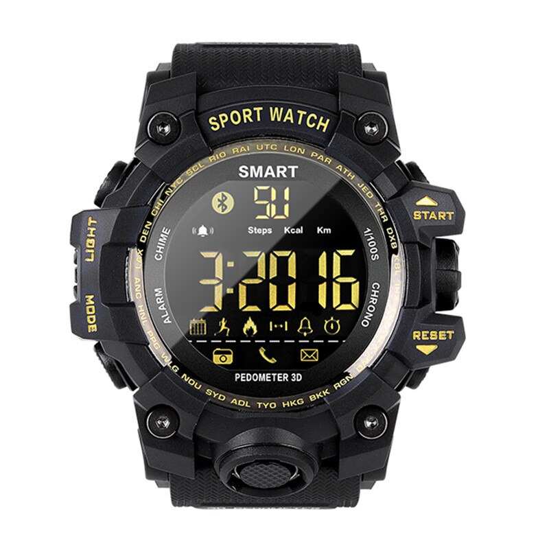 EX16S Smart Watch 5ATM Waterproof Military Men's tough Guy Camouflage Field Step 12 Months Standby S