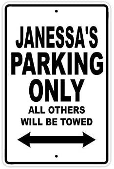 Janessa стоянки только в том случае, все Прочие ожерелья и подвески будет буксируемая название осторожно Предупреждение уведомления Алюминий ...