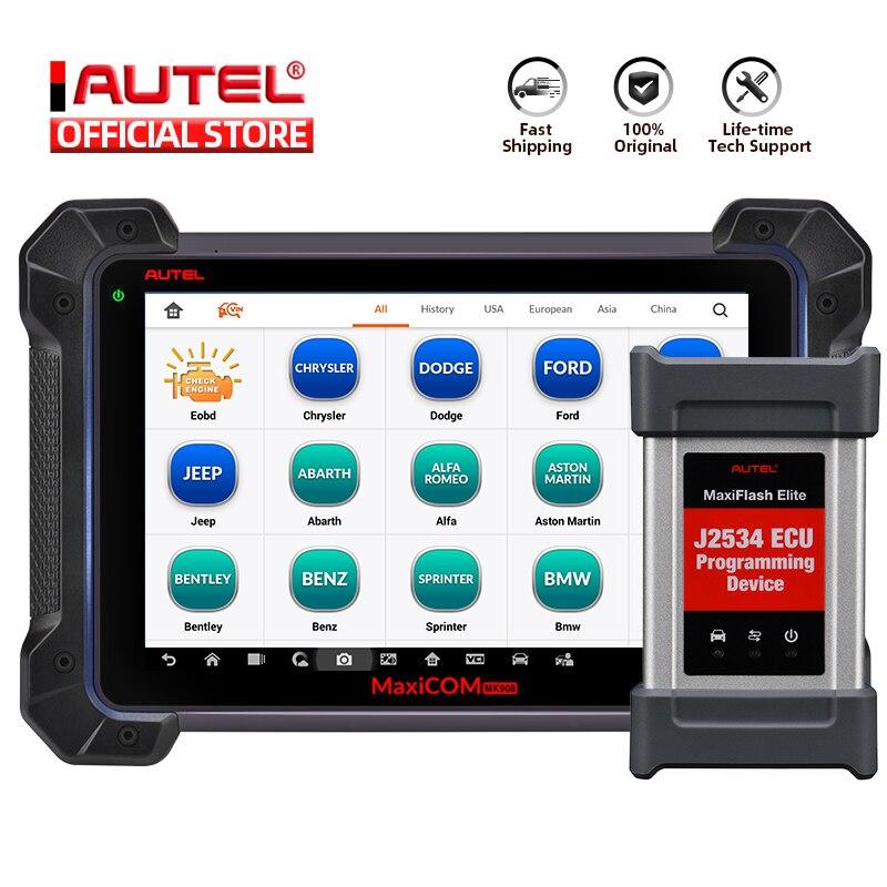 Autel MaxiCom MK908P OBD2 Scanner ECU Coding Programmming Key Coding OBD 2 Auto Car Diagnostic Tool