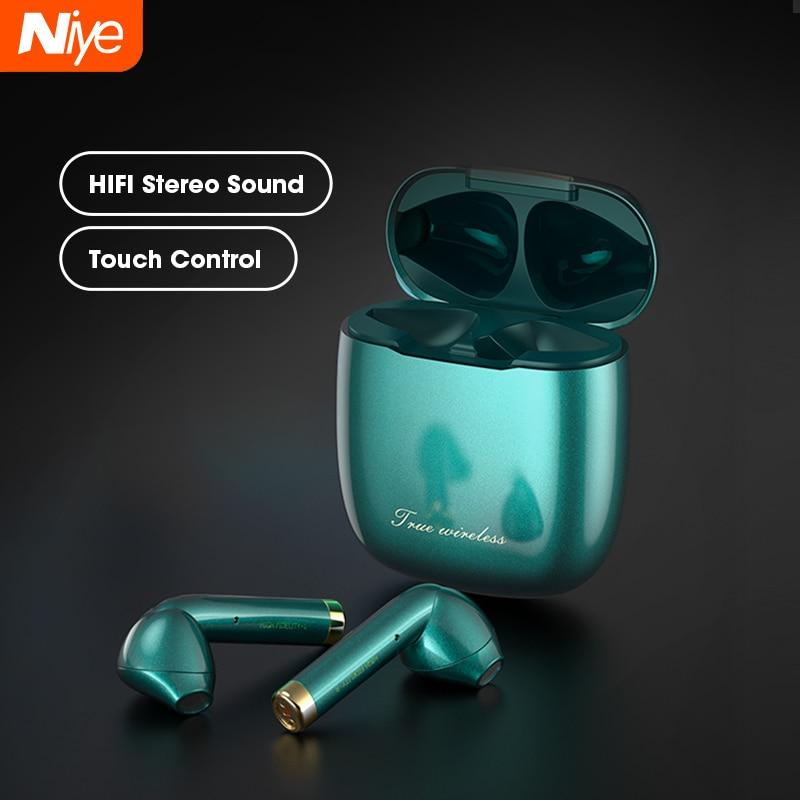 Fones de ouvido sem fio 9d som estéreo tws in ear fone redução ruído esportes correndo fone novo fones acessórios móveis
