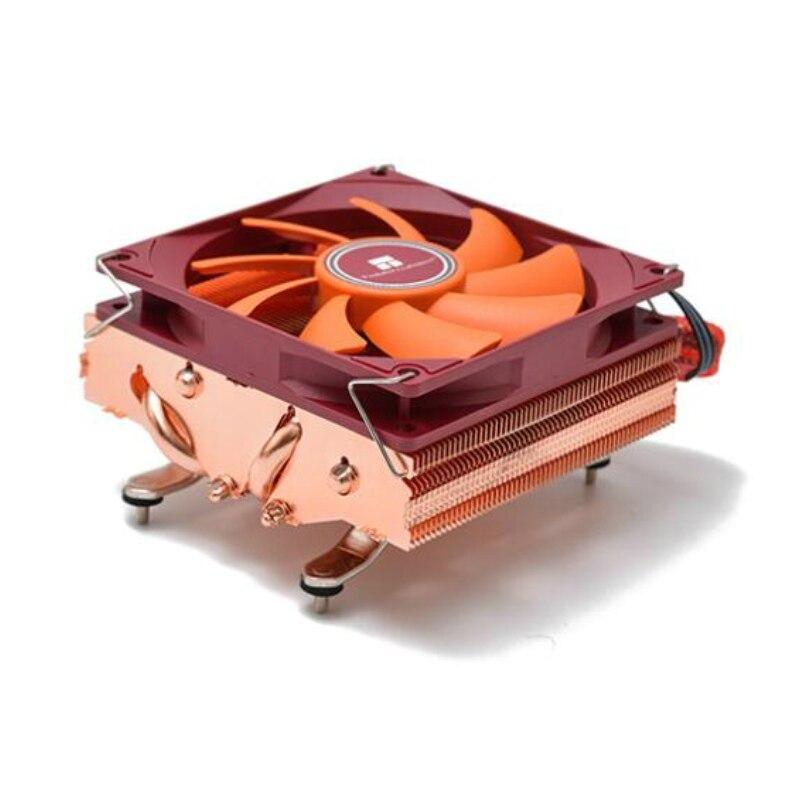 Охладитель для amd am4 низкопрофильный охладитель Intel LGA115x 1151 1150 1155 полностью из