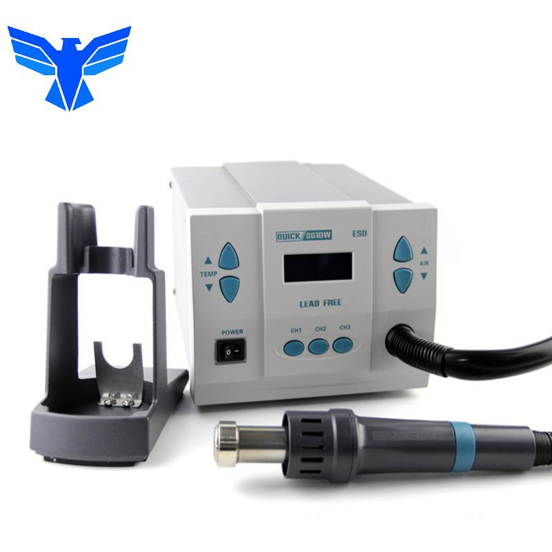 QUICK 861DW 1000W Lead Free Hot Air Rework Station Professional Soldering Rework Station For PCB Welding Repair Machine