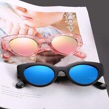 2020 New Sunglasses Retro Cat Eye Luxry Sunglasses Lady Brand Designer Vintage Black Sun glasses Wom