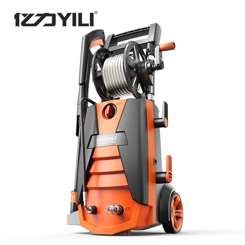 Moteur à induction sans balais 220V 50Hz   machine à laver haute pression, portable, nettoyage du sol du lave-linge, 2100W 100-190bar 9LPM