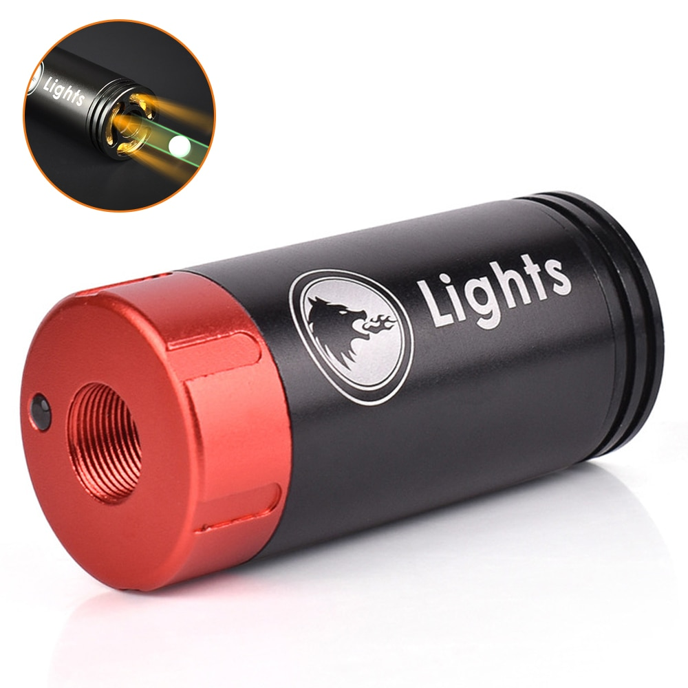 Tracer Lighter of Paintball Airsoft 11mm/14mm Auto Tracer Flamethrower Fluorescence Effect For Shooting Rifle Pistol Auto Track