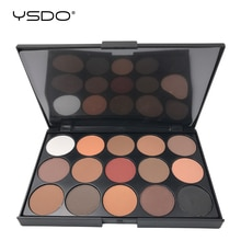 15 couleurs fard à paupières Palette mat ombre à paupières longue durée facile à appliquer professionnel fard à paupières primaire pour les yeux beauté maquillage outils 01