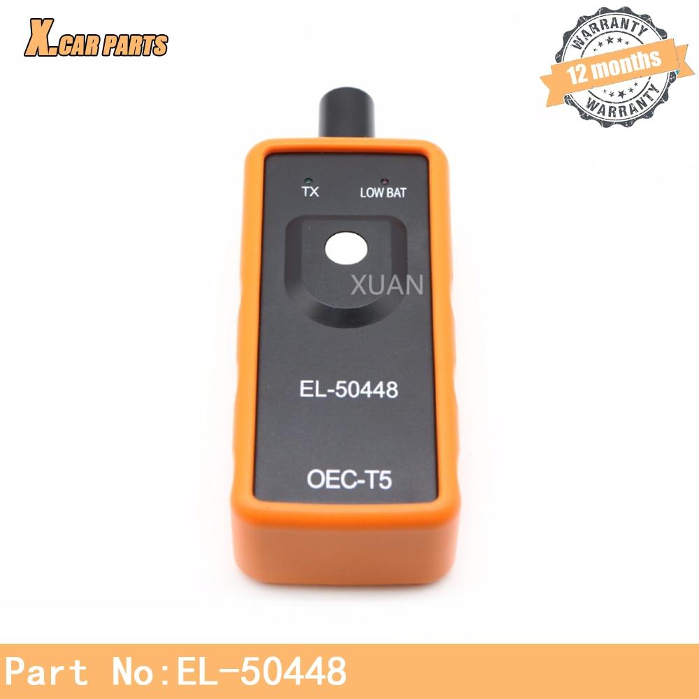 EL-50448 G M Pontiac sunfire Grand Am Premio bonnevi 11e Auto neumático Monitor de presión Sensor TPMS reajustar herramienta OEC-T5 EL50448