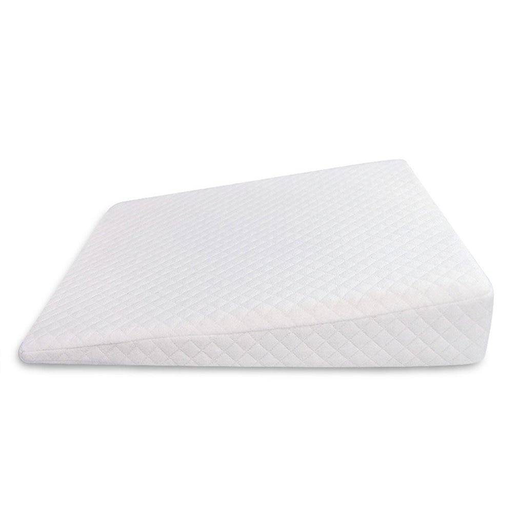 Almohada antispitting Milk Baby, almohada triangular para bebé, almohada de espuma con memoria para bebé, almohada de alimentación de bebé
