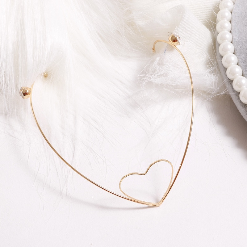 Crystal Alloy Hairpin with pearls Hairclip Sweet Headbands Back Holder Women Fashion Hair Hoop Diamonds Hair Styling Accessories