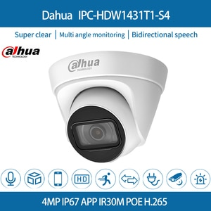 Dahua IPC-HDW1431T1-S4 IP Camera 4MP IR PoE Dome Netwok Surveillance Motion Detection Onvif CCTV Security  For Home&Office