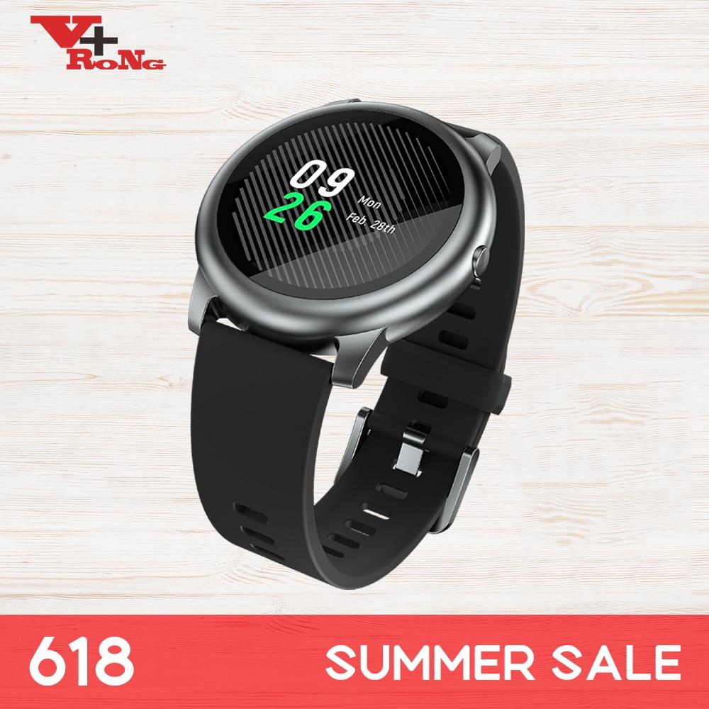 Smart Men Wattch  LS05 Smart Watch Sport Metal Round Case Heart Rate Sleep Monitor IP68 Waterproof 30 Day Battery IOS Android