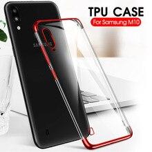 Placage Téléphone étui pour samsung Galaxy A20 E A50 A10 A30 S A90 A80 A70 A60 A40 M40 M30 M20 M10 Souple Souple Transparent étui en polyuréthane thermoplastique Cas