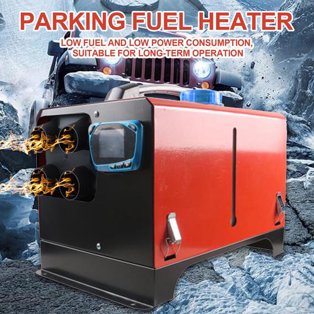 12V 8KW Universal Car Diesel fuel Air Parking Heater Blue LCD Display For Trucks / Motor-home / Boats / Camper Van Winter Warm