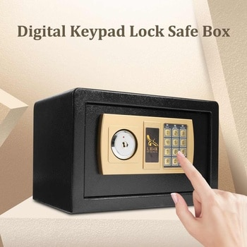 Digital Depository Drop Cash Safe Box Jewelry Gold Electronic Password Safe Security Box For Fire Proof 310x200x200mm