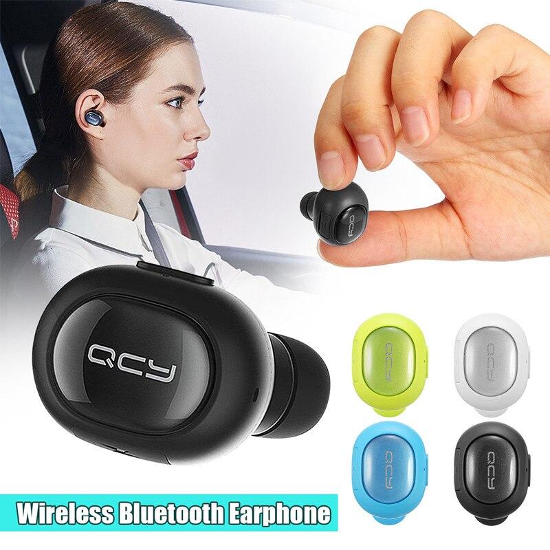 Q26 Mini auriculares Mono pequeño auriculares manos libres estéreo negocios auricular con micrófono