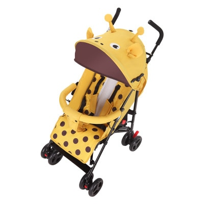 Ultra light folding baby stroller can sit reclining fashion carriage simple child shock-absorbing baby stroller newborn travel