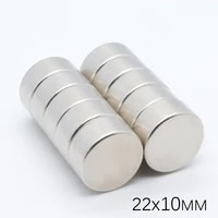20pcs 22x10 mm neodymium magnet n35 small disc round super strong magnets 2210mm powerful rare earth neodymium magnets 22x8 mm