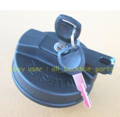 for JCB BACKHOE - DIESEL FUEL TANK CAP WITH 2 KEYS (PART NO. 332/F4780 331/11403)