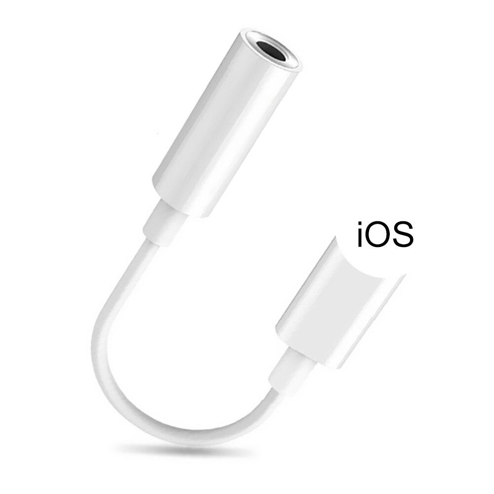 Adaptador Lightning a auriculares de 3,5mm para iPhone 12 11 Pro Max,...