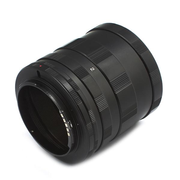 Pixco AF Confirm-Extensión de lente Macro, 3 tubos de anillo, compatible con...