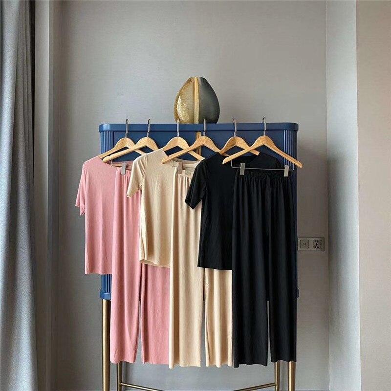 Modelos de explosión Xiaogang sister traje suave y suave traje fresco traje de baño de dos piezas de servicio en el hogar
