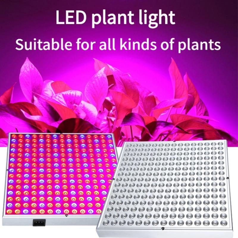 Светодиодная лампа для выращивания светильник полный спектр Quantum доска 169 светодиодов Теплицы Крытый Фито лампа Гроу тенты для США ЕС штепс...