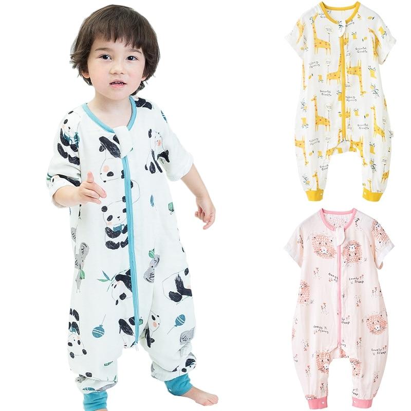 Children's Sleeping Bag Vest for Baby Boy Girl Wearable Zippers Swaddles Blanket Split Leg Sleepsacks Convenient Change Diaper