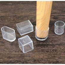 4 stücke Stuhl Bein Caps Gummi Füße Protector Pads Möbel Tisch Abdeckungen Socken loch stecker staub Abdeckung möbel nivellierung füße system