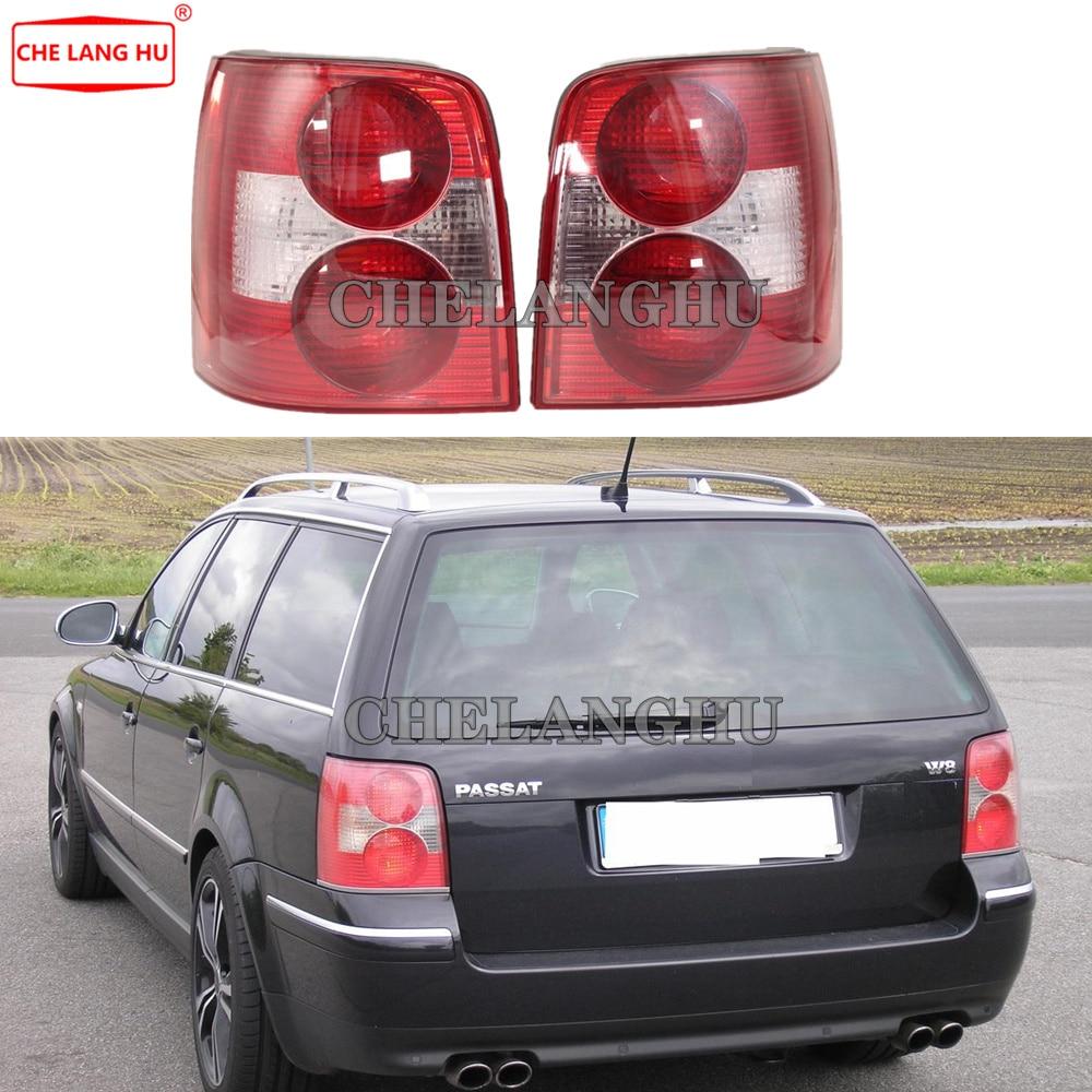 Luz do carro para vw passat b5 b5.5 wagon variant 2000 2001 2002 2003 2004 2005 carro-estilo traseiro luz da cauda lâmpada habitação sem lâmpadas