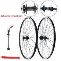20 /26 inch spinning fly Palin bearing Wheelset 7/21 speed 27/24 V brake disc brakes disassemble car mountain bike wheel