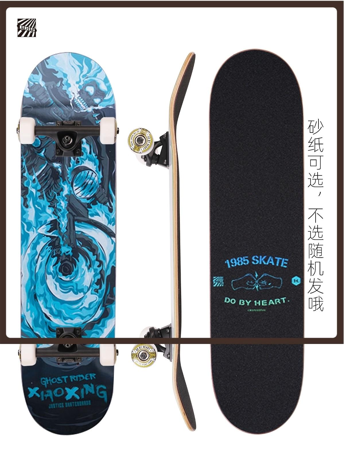 4 Wheel Long Board Skateboard Deck Teenagers Complete Skateboard Action Drift Skate Cruiser Kids Deskorolka Sports Equipment