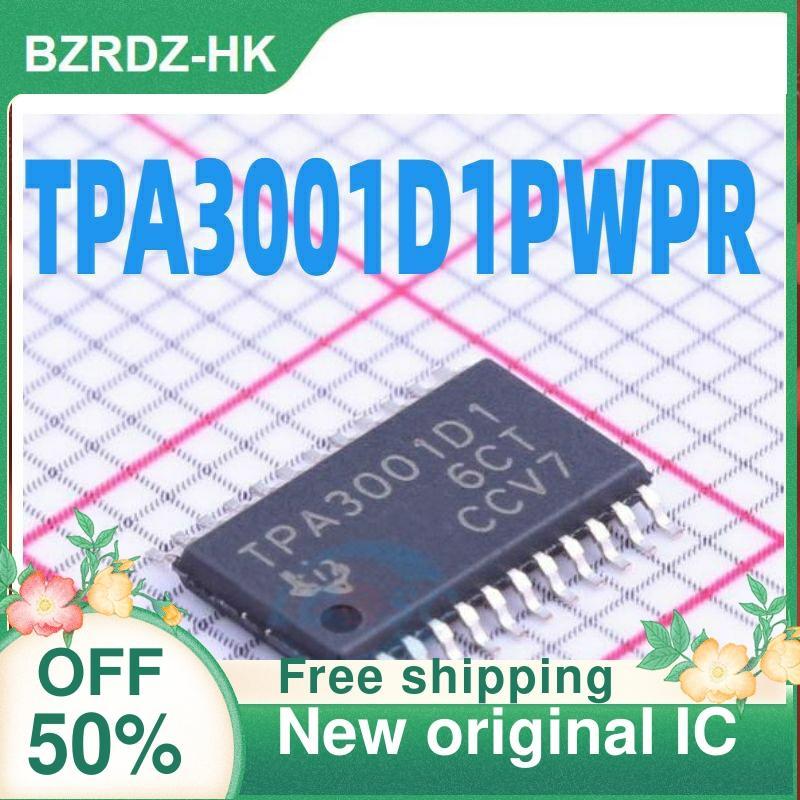 Frete grátis 2 Pçs/lote TPA3001D1PWPR TPA3001D1 SOP Novo original IC