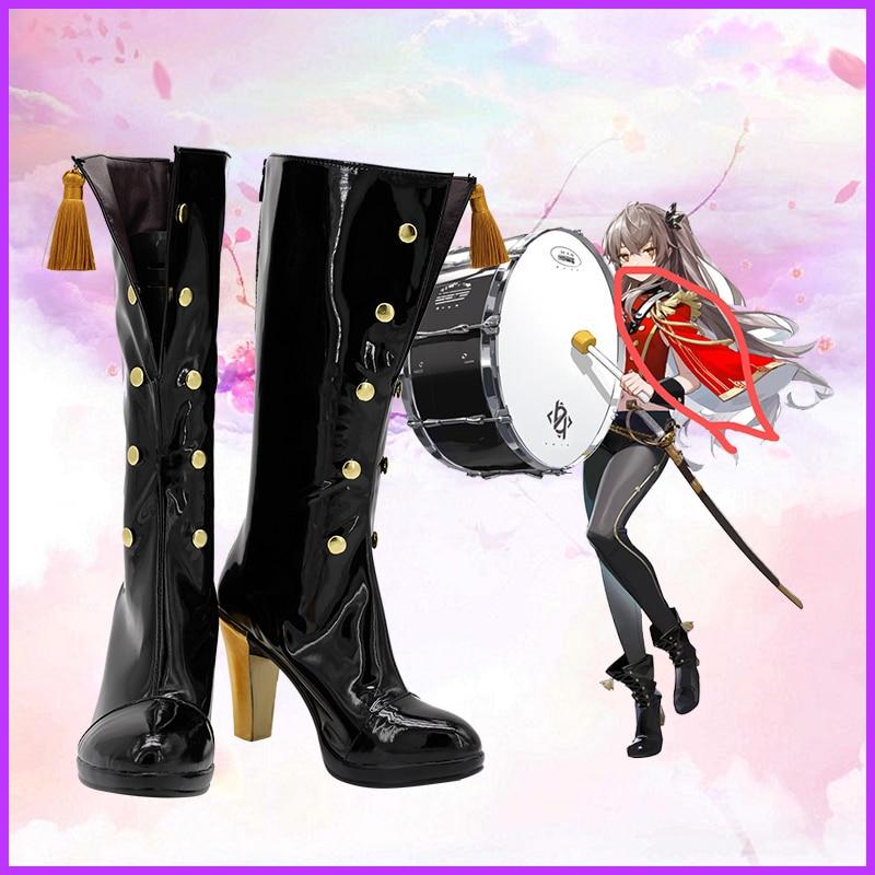جديد للجنسين أنيمي كوس بنات فرونتلاين UMP9 تأثيري ازياء أحذية أحذية هالوين حفلة عيد الميلاد حجم مخصص