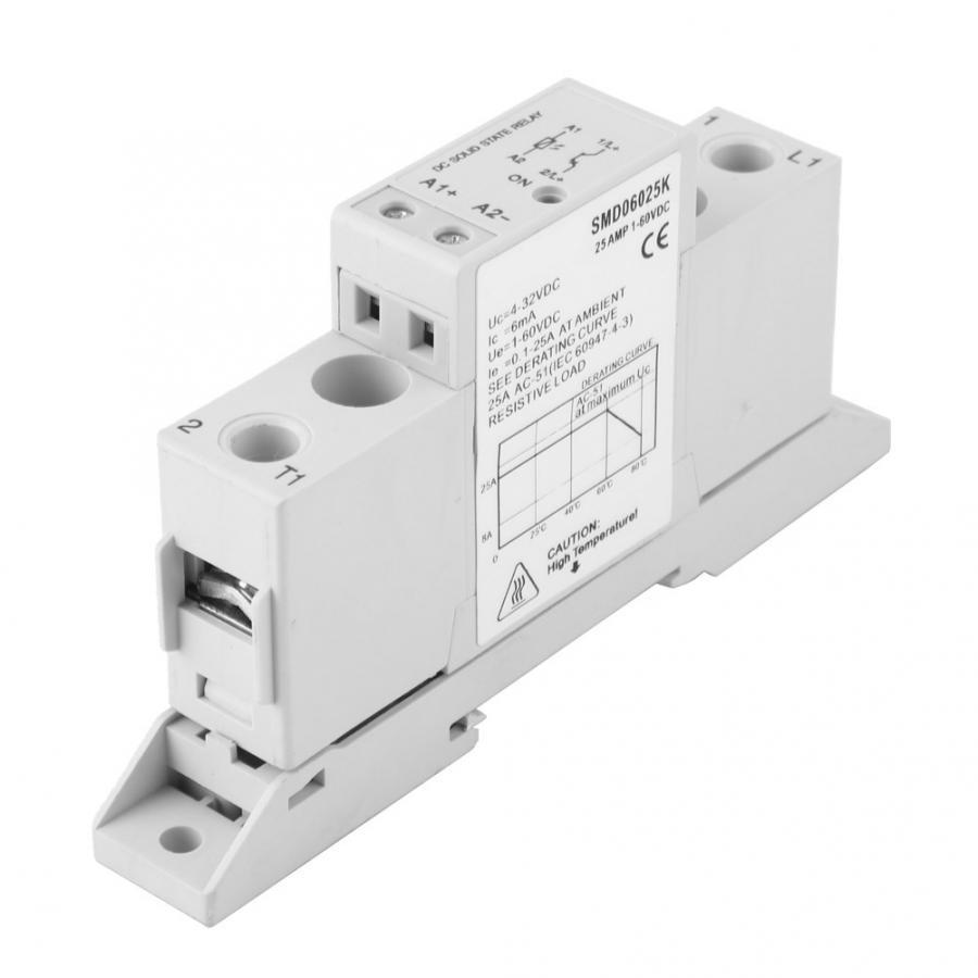 Relé de estado sólido Din Rail DSMD100015S DC Control módulo de relé de estado sólido DC monofásico DIN