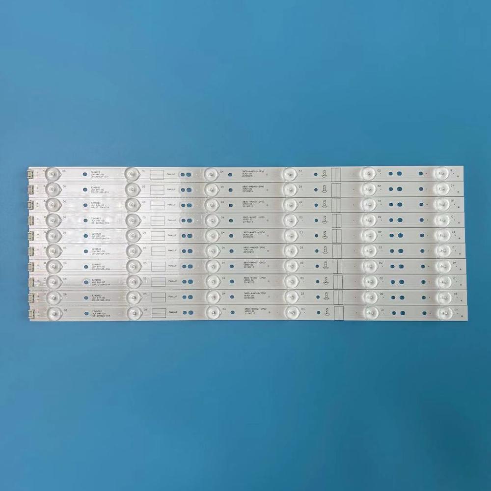 Retroiluminación LED tiras para 5800-W49001-DP00 5800-W49001-0P00 5800-W49001-1P00 5800-W49001-2P00 49E3000 49E6080 49M6 49E360E/5ERS