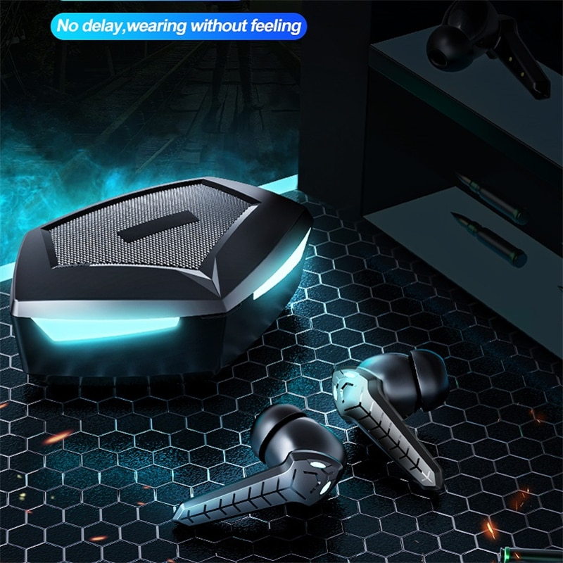 TWS Gaming Earphone 2021 New Wireless Buletooth Headphone