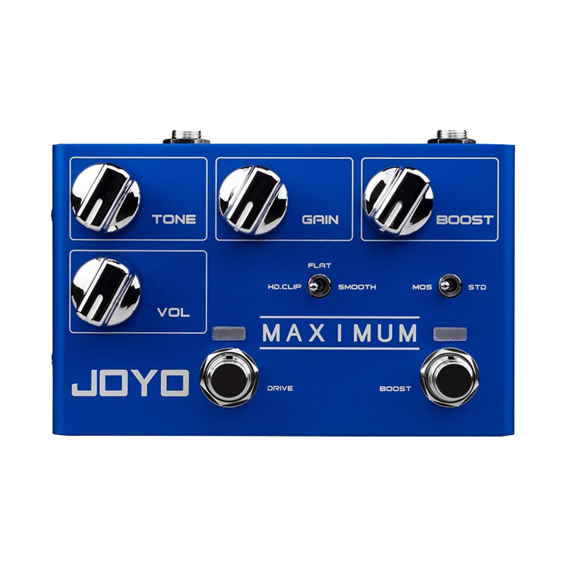 Maximum Mini Effects Dual Channel Overload Electric Guitar Effects Acoustic Distortion Overload Guitar Effects JOYO R05 enlarge