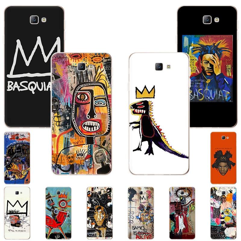 Мягкий силиконовый чехол для телефона Jean-Michel Basquiat Art граффити для Samsung Galaxy S20 Ultra M40 M30 M20 M10 Note10 9 8 M30S S10Lite