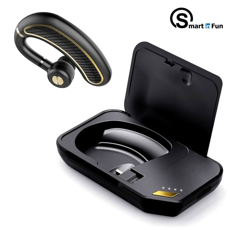 New Wireless Bluetooth 5.0 Earphone TWS HIFI Business Headset Support iOS/Android Phones HD Call enlarge