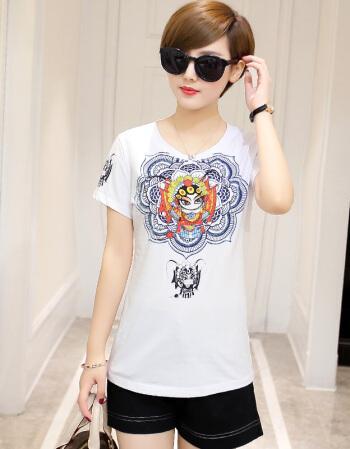 2020 blue Summer Fashion  T Shirt  Women Woman  Tshirt sky