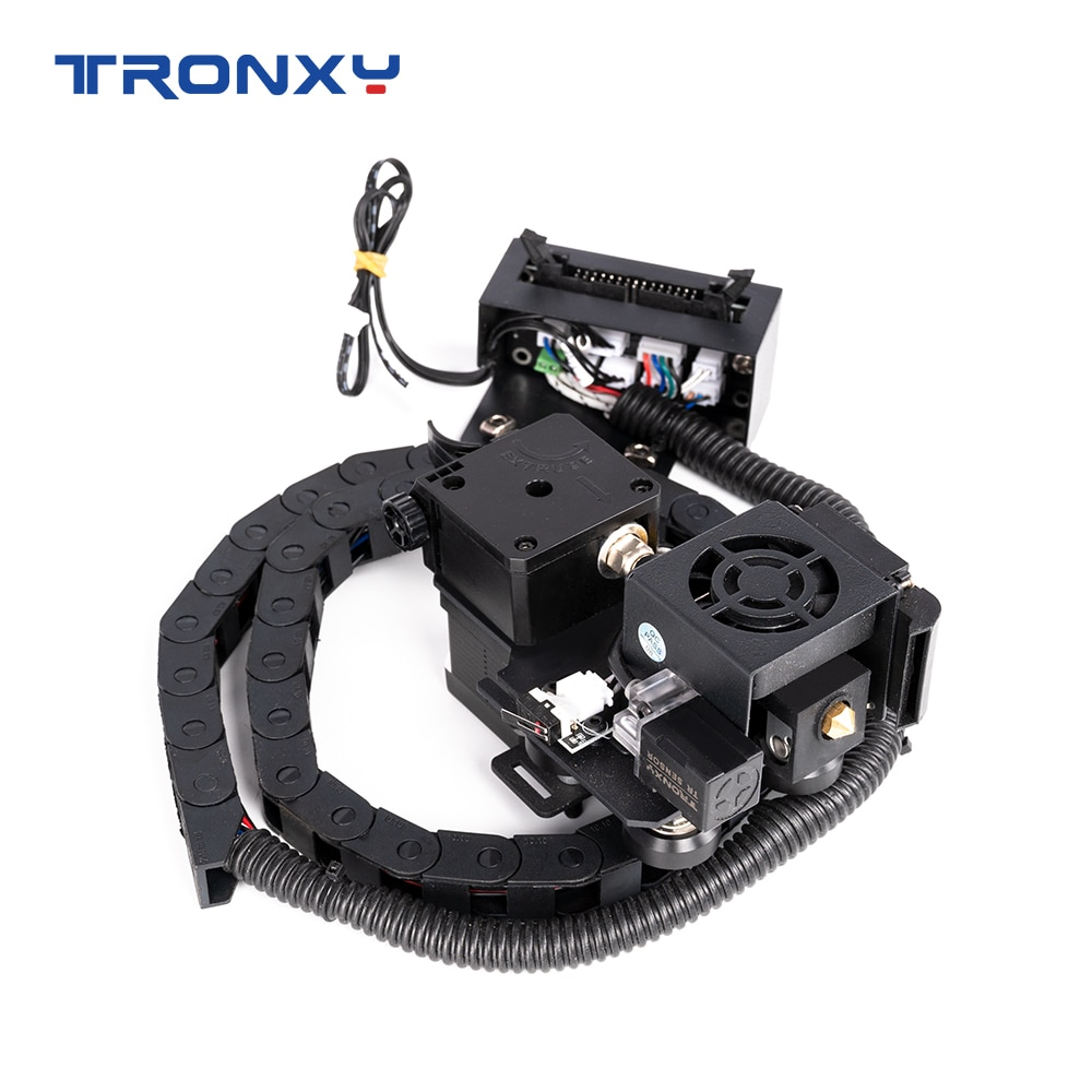 Tronxy X5SA direct Extruder update kit with Auto leveler TITAN Flexible Material TPU Silent guide rail pulley 3D Printer parts