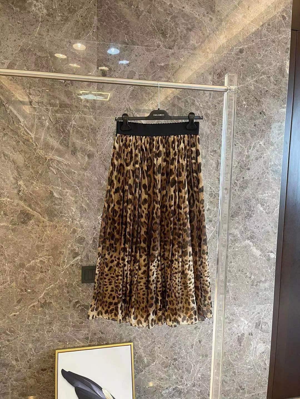 2021 dress women spring summer leopard print retro luxury silk retro fashion lace sexy trend long