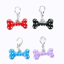 New manufacturers supply 3D Bone Pendant pet supplies dog necklace accessories