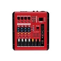 4 channel audio power mixer usb interface controller home music karaoke amplifier mixer