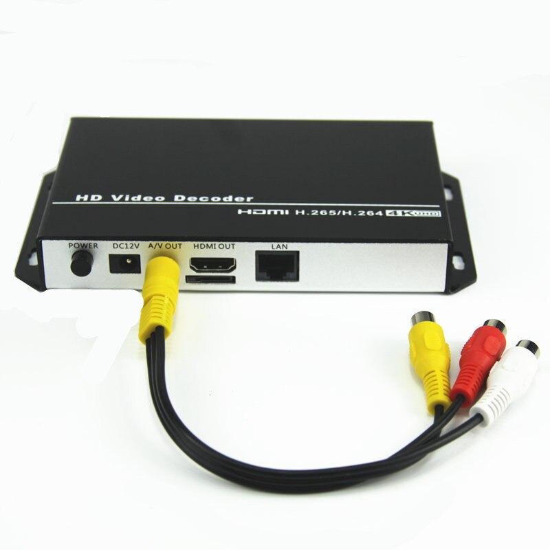 HDMI HD تدفق وسائل الإعلام فك RTSP UDP شبكة بث الفيديو لاعب عن بعد RTMP سحب تدفق الصوت